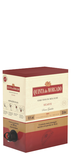 Vinho Quinta do Morgado Tinto Suave Bag In Box 3 L