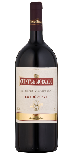 Vinho Quinta do  Morgado Bordo Suave 1500 ML