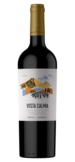 Vinho Vista Calma Shiraz 750 ml
