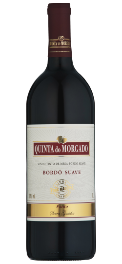 Vinho Quinta do Morgado Bordo Suave 1 L
