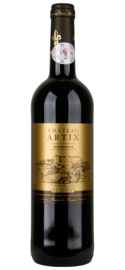 Vinho Chatêau Artix Gold Label AOP Minervois 750 ml