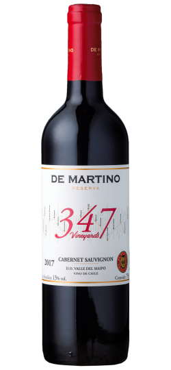 Vinho De Martino 347 Cabernet Sauvignon Vineyard 750 ml