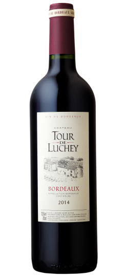 Vinho Chateau Tour de Luchey 750 ml