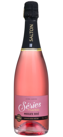 Vinho Espumante Salton Series Asti Moscato Rose 750 ML