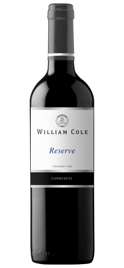 Vinho William Cole Reserve Carmenere 750 ML
