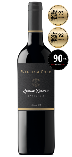 Vinho William Cole Grande Reserve Carmenere 750 ML